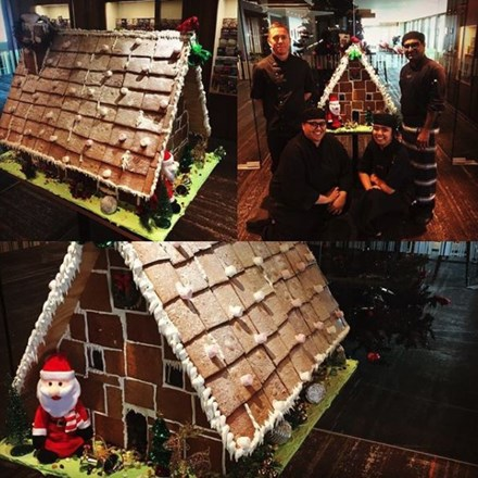 Ginger Bread House, Stratosfare Restaurant.